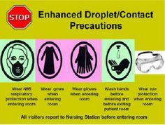 Enhanced Droplet/Contact Precautions  - Infection Control at SickKids