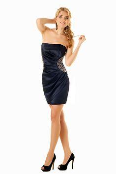f5e85b409989b Коктейльное Платье-футляр Без Бретелей. Интернет-магазин tamani.com.ua