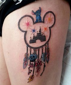 0f26c693802bc 15 Best Disney thigh tattoo images in 2018 | Awesome tattoos, Disney ...