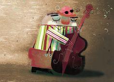 Ilustración infantil. Tesa González. Leo Lionni, Music Aesthetic, My Favorite Things, Artist, Anime Music, Music Pictures, Instruments, Spain, Profile