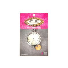 Find the My Life™ by Amy Labbe Clock Parts Bubble Pendant at Michaels