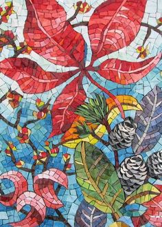Mosaic is a stunning way to create decorative panels