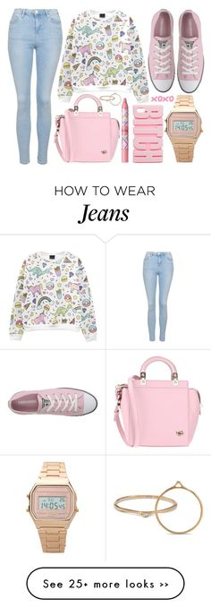 """""""street style"""" by sisaez on Polyvore featuring Topshop, Converse, Givenchy, tarte and ASOS"""