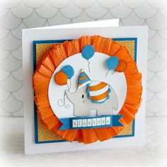 Chi Chi Memories Blog: It's a Chi Chi Memories Birthday, card made by Alice Carman.