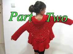 Meladoras Creation | Butterfly Stitch Circular Jacket - Free Crochet Pattern and tutorial