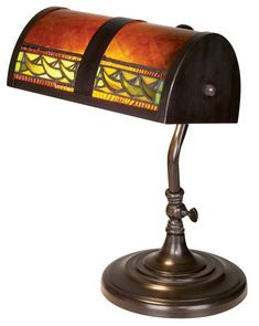 Dale Tiffany TA100682 Egyptian Desk Lamp, Mica Bronze Dale Tiffany Lamps http://www.amazon.com/dp/B000S34ERY/ref=cm_sw_r_pi_dp_uFqDub1B14FKV