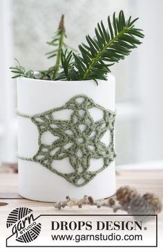 Flower pot decor Free Pattern