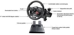 Logitech PlayStation 3 Driving Force GT Racing Wheel: Video Games | Amazon.com #PS3 #GT6
