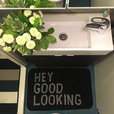 Siivoustouhuja ja Tukholman reissun tuliaismatto lattialle.  #sisustus #interiordesign #interior #interiors #toilet #decoration #homeinspo #homeinterior #interiorhome #interiordecor #koti #myhome #hem #inredning #home