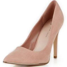 nude shoes size 5 - new look