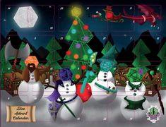 Beholder's Gaze dice advent calendar