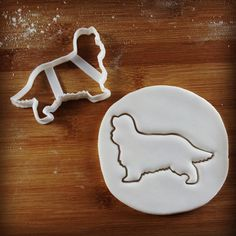 Cavalier King Charles Spaniel Dog cookie cutter | biscuit cutter | fondant cutter | clay cheese cutter | one of a kind ooak
