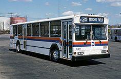 MTA Long Island Bus 1988 Gillig Phantom