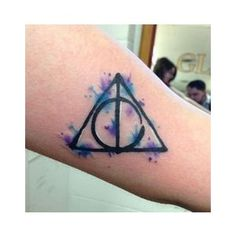 My watercolor Deathly Hallows Tattoo Tattoos are Art