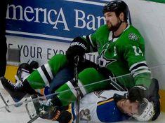 Stars Hockey, Ice Hockey, Hockey Memes, Motorcycle Jacket, Hockey Stuff, Baseball Cards, Dallas, Sports, Jackets
