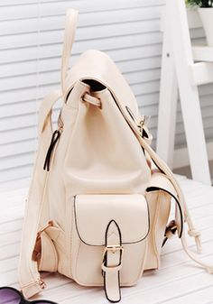 Buckled Backpack -- looking for a cute backpack like this one to tote around