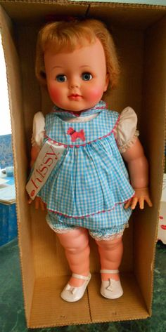 Doll Repair Instructions For Vintage Ideal Kissy Dolls