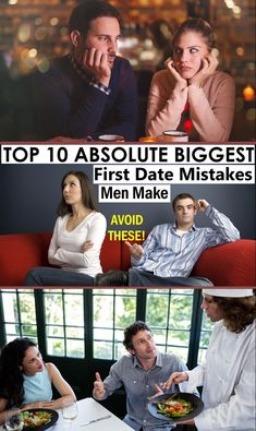 A first date should be an exciting experience for you and your date. But there are times when awkward incidences occur the first date also becomes the last one. There are many first date mistakes that people make on a first date, but these can be avoided so that the next time you go out, the experience and the time with that special person will be worth keeping.  #FirstDate Dating Tips For Men, Special Person, Awkward, Mistakes, Going Out, Times, Feelings, Youtube, People