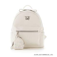 Samantha Thavasa Hello Kitty Backpack Bag White SANRIO JAPAN 2017