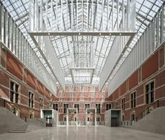 The Rijksmuseum in Amsterdam will open its doors this week after a 10-year architectural endeavor, creating, amongst other things, a 24,000-square foot glass atrium.