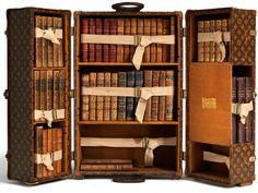 Louis Vuitton Bookcase Trunk