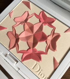 #Dior snow bloom face and blush