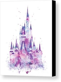 Cinderella Castle Art Print by Monn Print. All prints are professionally printed, packaged, and shipped within 3 - 4 business days. Choose from multiple sizes and hundreds of frame and mat options. Film Disney, Arte Disney, Cinderella Castle, Princess Castle, Royal Princess, Disneyland, Watercolor Disney, Watercolor Print, Disney Wall Art