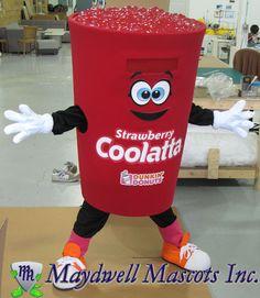 Dunkin' Donuts Coolatta mascot