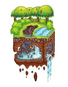 Pixel Art Depression Cave by Shirei-Shou