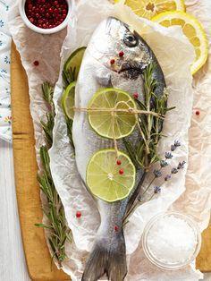 Dorade en papillote au barbecue - Recette de cuisine Marmiton : une recette