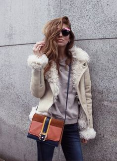 Shop the look: SHEARLING ENVY