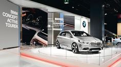 Exhibits BMW Active Tourer Paris For Mutabor Design. Bmw Concept, Exhibition Booth, Booth Design, Exhibit Design, Exhibitions, Thesis, Showroom, Interior, Events