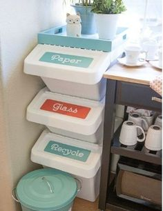 Decorate Your Recycle Bins