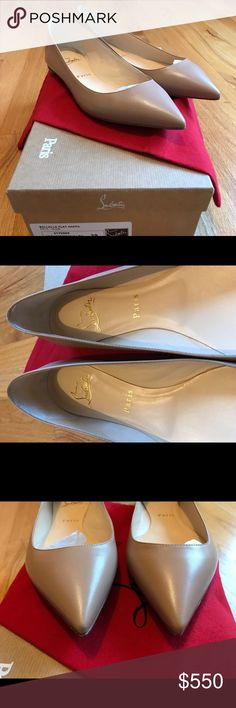 9c505ddbf Christian Louboutin Ballalla flats nude kid These are brand new, buttery  soft, never worn