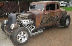 Plymouth : Other Deluxe 1934 Plymouth Coupe Rat-Rod with 354 ci Hemi - http://www.legendaryfind.com/carsforsale/plymouth-other-deluxe-1934-plymouth-coupe-rat-rod-with-354-ci-hemi/
