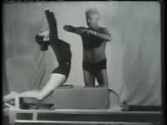 Joseph Pilates & Eve Gentry (Historic video) - YouTube