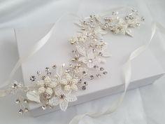 Wedding Hair Vine, Silver Bridal Head Piece, Gold Bridal Hair Accessory, Hair Vine, Bridal Accessories by AFondAffair on Etsy https://www.etsy.com/listing/505768113/wedding-hair-vine-silver-bridal-head