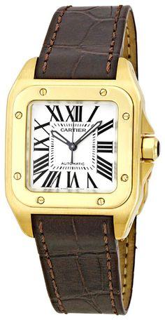 Cartier Santos 100 Ladies Watch W20112Y1  $11,195.00  #CartierSantos