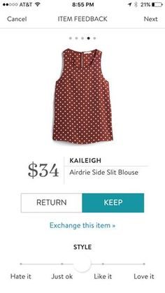 Kayleigh Airdrie Side Slit Blouse. Polka dots & burgundy? Is there any better combo? Maybe Navy, but burgundy is a close second!