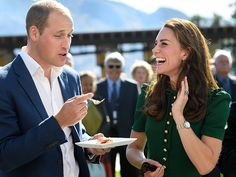 Prince William and Kate Middleton in Love on Canada Tour