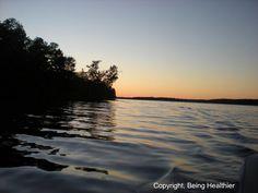 Love how beautiful Lake Gaston is!