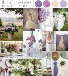 Lavender & Lilac wedding inspiration