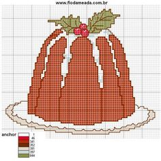Gráficos de Ponto Cruz: gráficos ponto cruz de Natal …