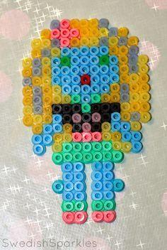 Swedish Sparkles: Hama beads + Monster High = Tons of fun