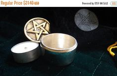 On Sale at Etsy Travel Candle Kit Velvet Carry Pouch Nag