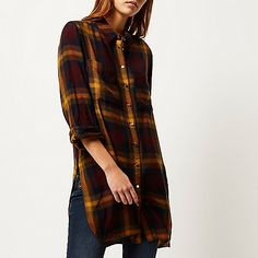 The Autumnal colours are coming out and looking lovely in this new shirt #RiverIsland