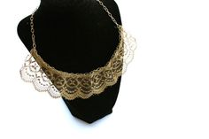 Easiest Necklace Ever! Lace - step by step Photo tutorial - Bildanleitung