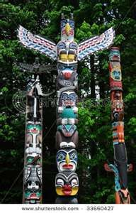 Stanley Park, Vancouver  More totem poles than I have ever seen!