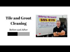 Tile and Grout Cleaning - Before and After - YouTube
