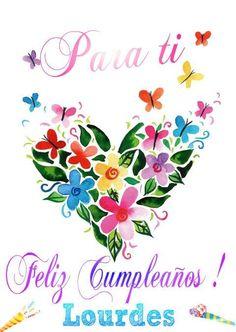 Felicidades Lourdes